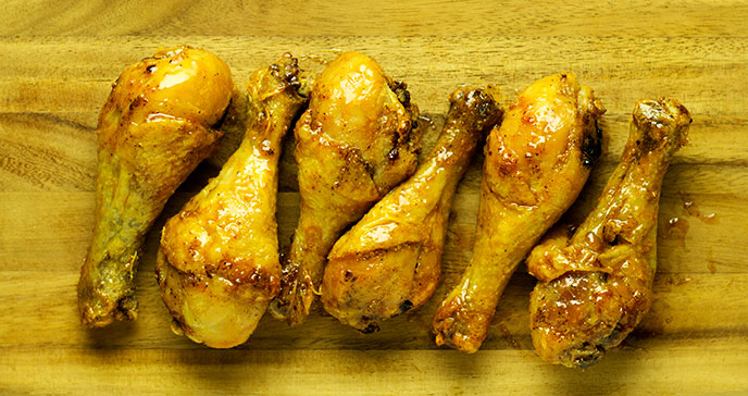 air fryer drumsticks cooking time
