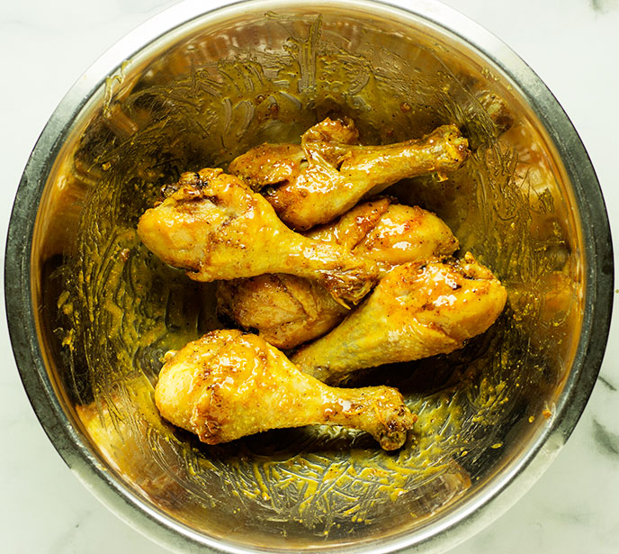 frozen drumsticks in air fryer