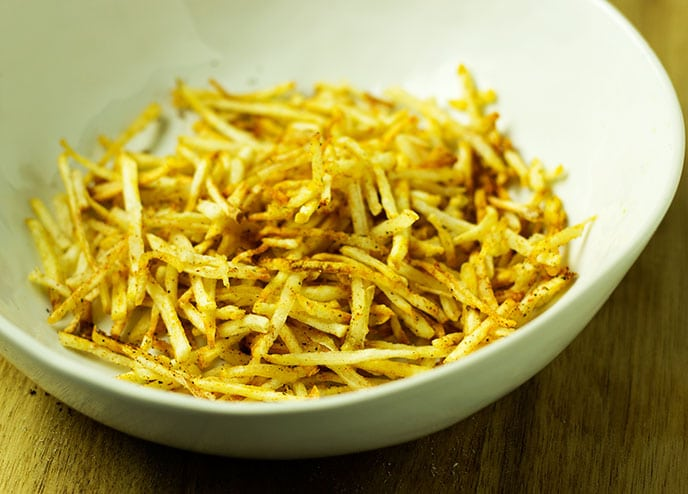air fryer hash browns