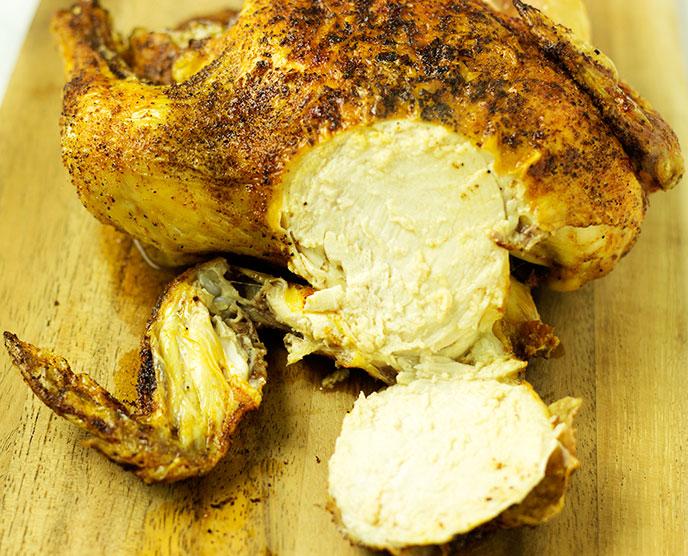 air fry cornish hen